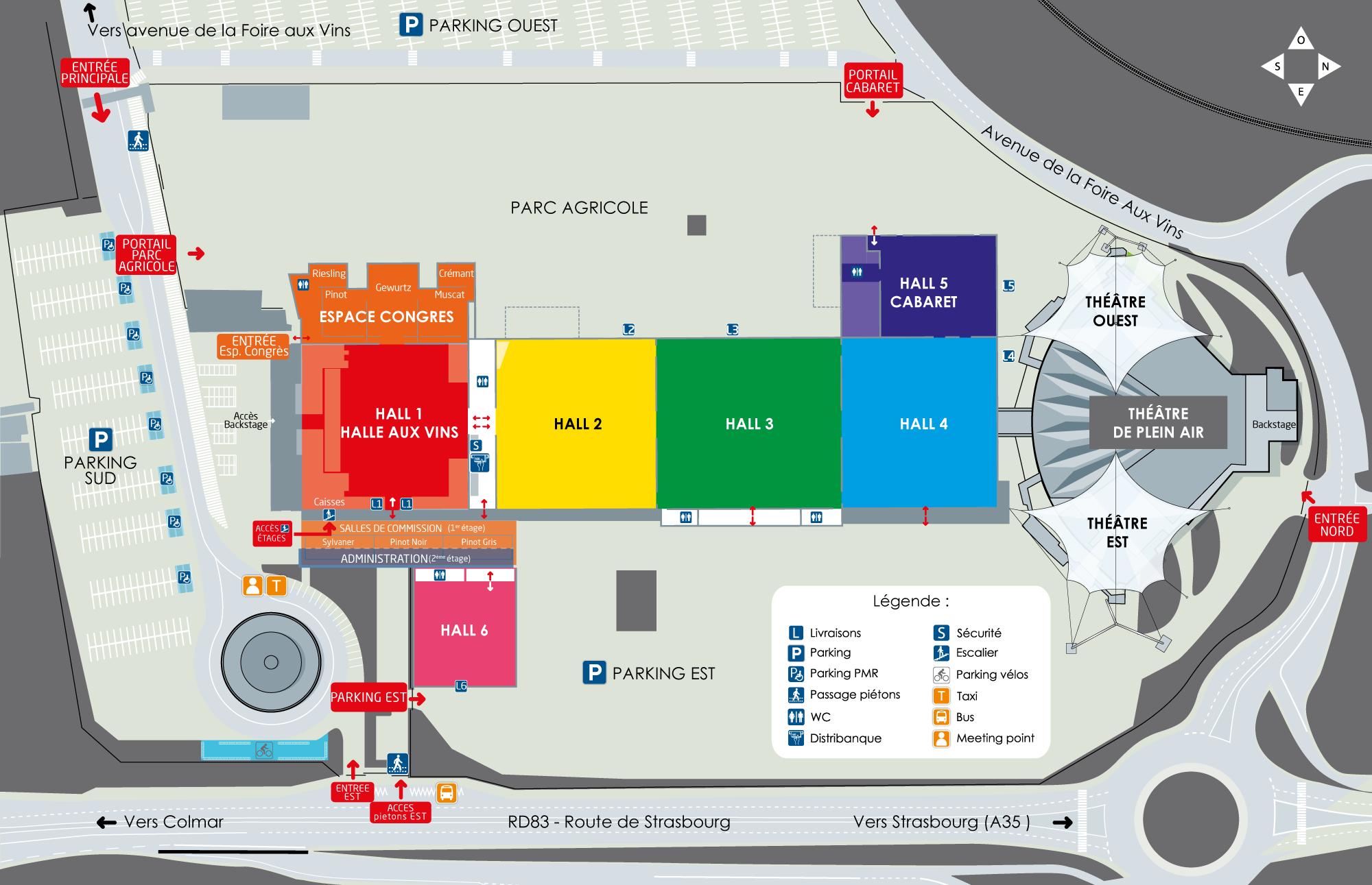 Infos pratiques for Parc des expo strasbourg